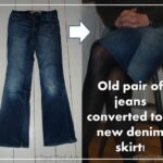 How to… Make a Skirt from a Pair of Jeans
