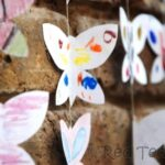 Kids Crafts: Butterfly Mobile