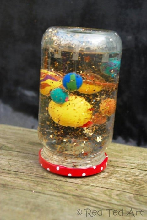 how to make a FIMO snowglobe