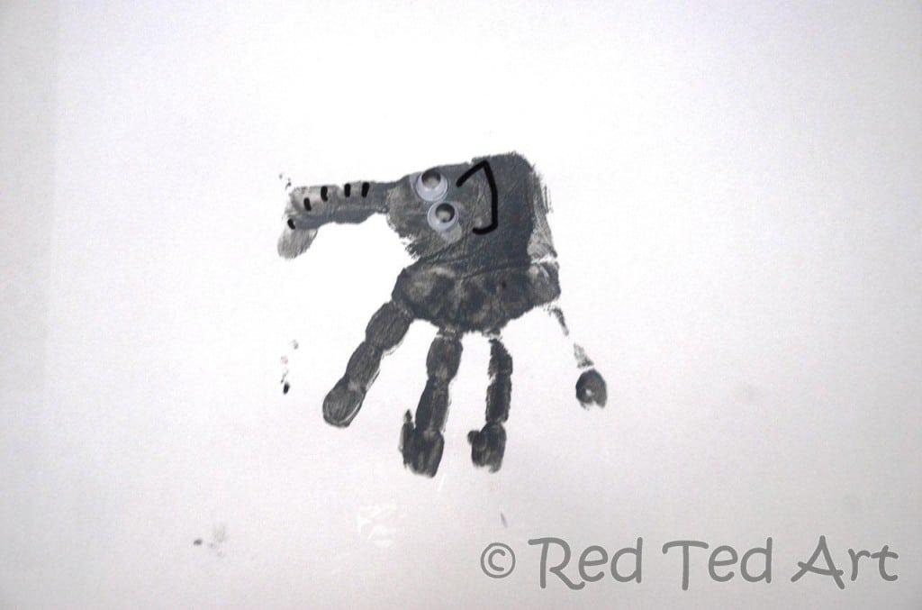 handprint crafts arts