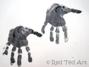 handprint crafts preschoolers