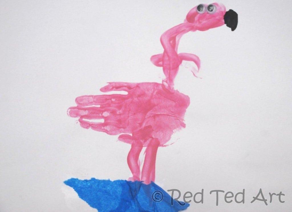 handprint crafts preschool