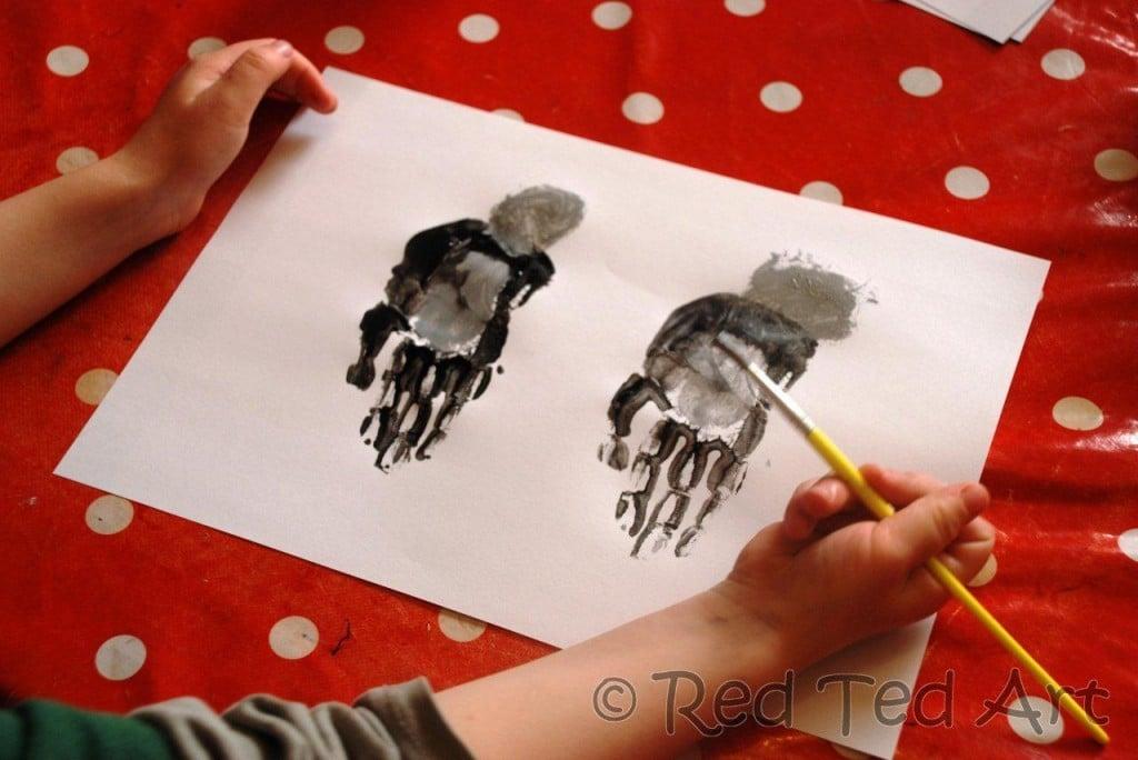 handprint arts and crafts