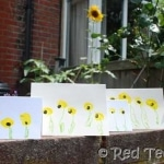 kids-crafts-sunflower-thank-you-cards