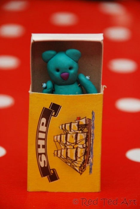 teddy matchbox