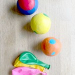 How to make Balloon Juggling Balls or Stress Balls - a super fun an easy craft for kids. Make these. Give these. Learn to juggle. Have fun!!