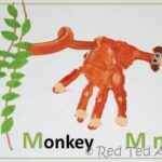 Handprint Alphabet – M for Monkey