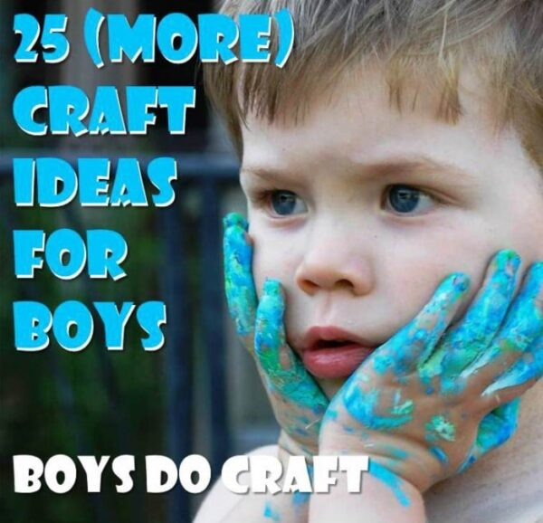 25 More Boy Craft Ideas Red Ted Art S Blog