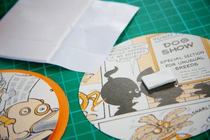 comic book craft
