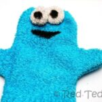cookie monster puppet