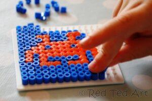 space invader crafts