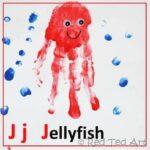 Handprint Alphabet – J for Jellyfish
