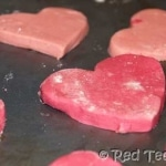 Kids Craft: Chocolate Heart Shortbread Cookies