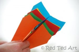 launching paper planes
