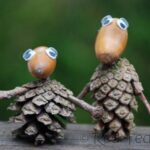 Kids Crafts: Pine Cone People & Paper Crafts