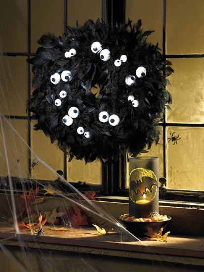 HalloweenWreath1 Red Ted Art 39 s Blog