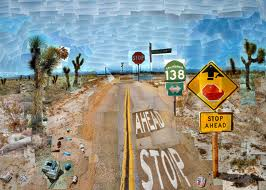 hockney pearblossom highway