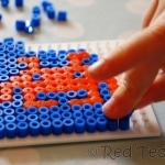 kids-crafts-space-invader-hama-beads