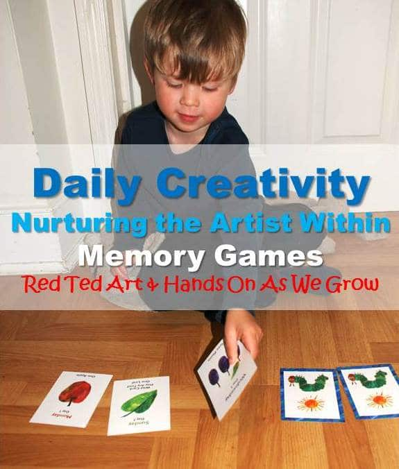 Daily Creativity: Nurturing the Artists Within – Memory