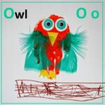 Handprint Alphabet – O for… Owl