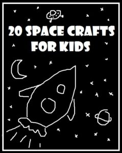 space crafts for kids - have a BLAST with these fabulous space inspired crafts for kids. From rocket pack packs, to solar system papier mache and alien hama beads... you will love these out of this world DIYs for kids!