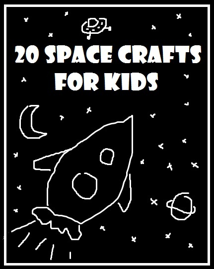 Paper Plate Spaceship & Alien. 15 Books about Aliens and Space #aliens #space #flyingsaucer #paperplate #preschool