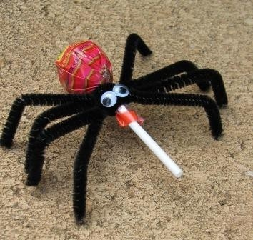 spider halloween crafts