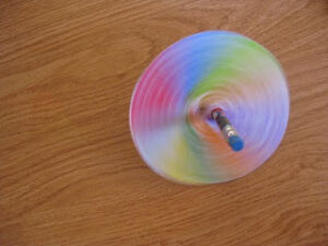 diy spinning top