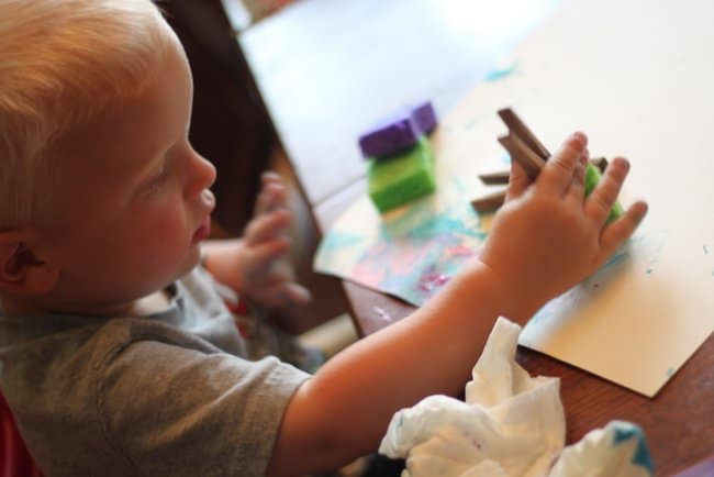 art with young children