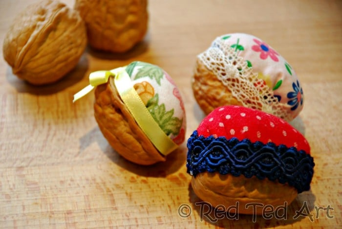 walnut pin cushion