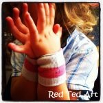 How to… Make (No Sew) Wristbands