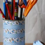 How To… Make Washi Tape Pen Holders