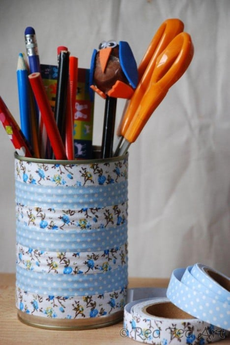 pen stand craft ideas how to make washi pen holders ted s 5148