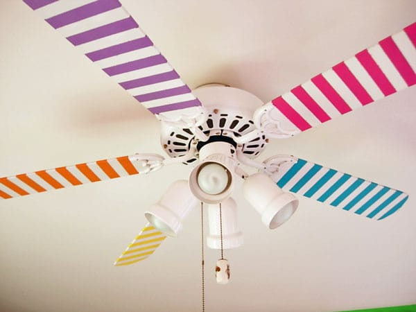 Washi tape decor