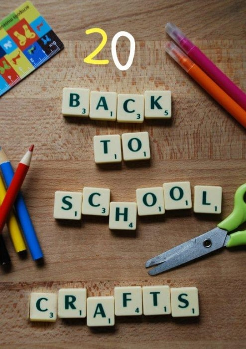 20 Back To School Crafts Ideas Red Ted Art