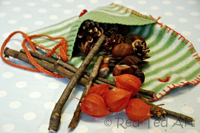 Kids Crafts: Autumn Mobile
