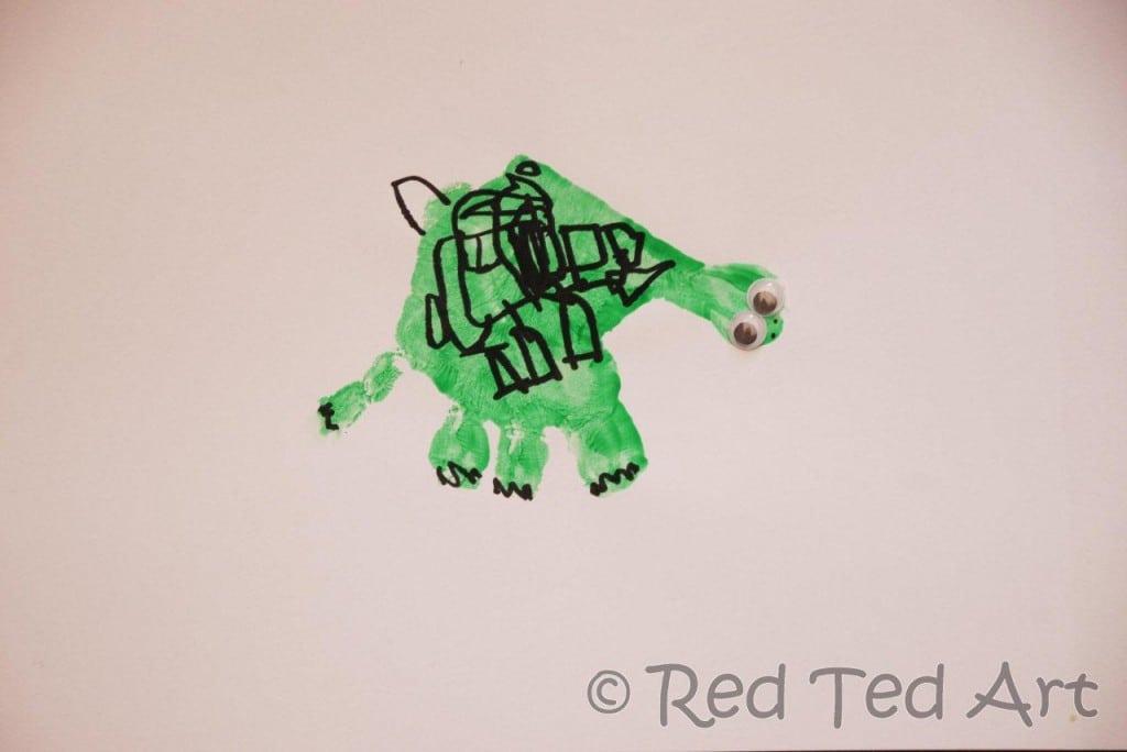 handprint turtle