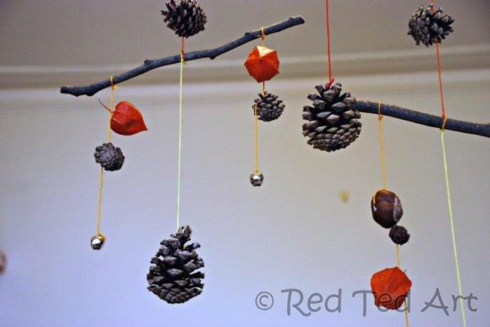 pinecone stick craft
