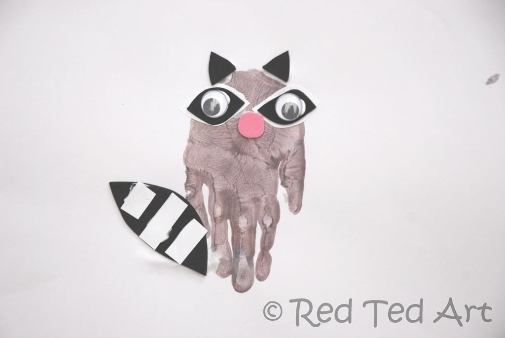 R Is For Raccoon Here is the original