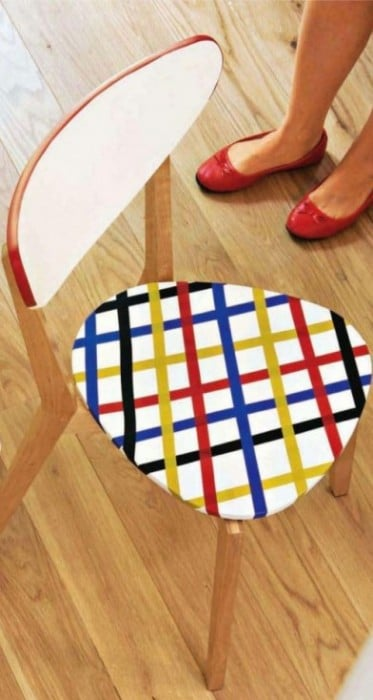 Washi Tape Chairs