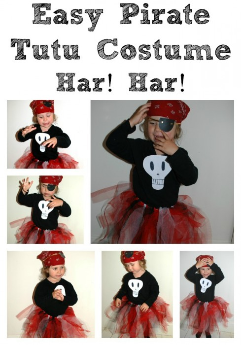 easy halloween costumes  sc 1 st  Red Ted Art : basic pirate costume  - Germanpascual.Com