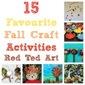 Craft Ideas 2012 on Art S Blog    Blog Archive Fall Craft Ideas 2    Red Ted Art S Blog