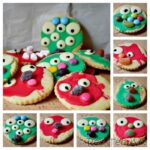 Easy Monster Cookies for Preschoolers to make