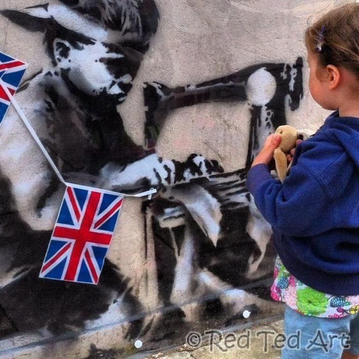Exploring Banksy With Kids. Exploring Great Artists with Kids. How do you teach kids about street art.