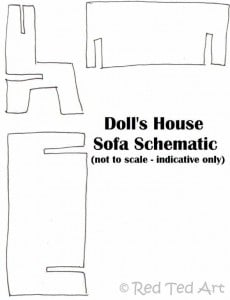dolls house sofa