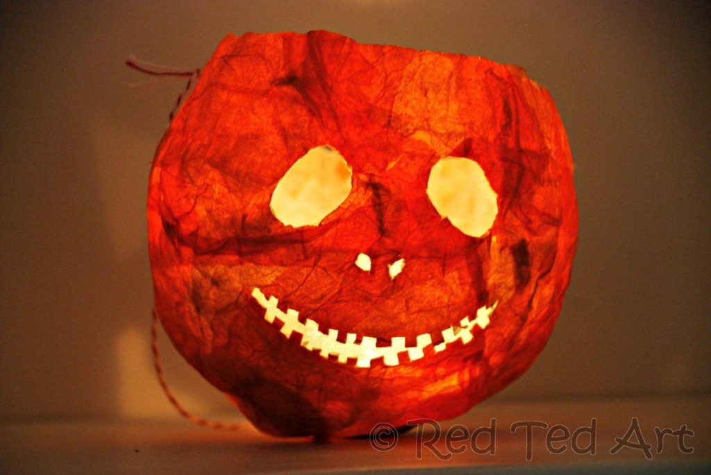 halloween lantern - How To Make Halloween Lanterns
