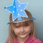 new years eve crafts - paper plate hats