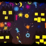 new years eve crafts - wonderful fireworks art
