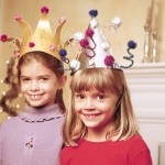 new years ever crafts - party hats