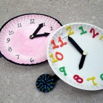 new years craft - countdown clocks